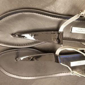 Vera Wang Gladiator Thong Sandals Sz 10